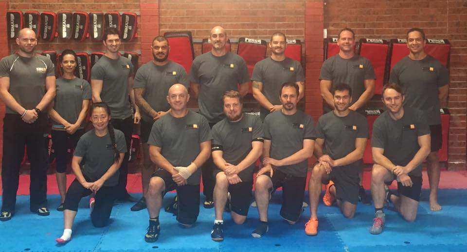 Four SGS Krav Maga Students begin their KMG Instructor Journey